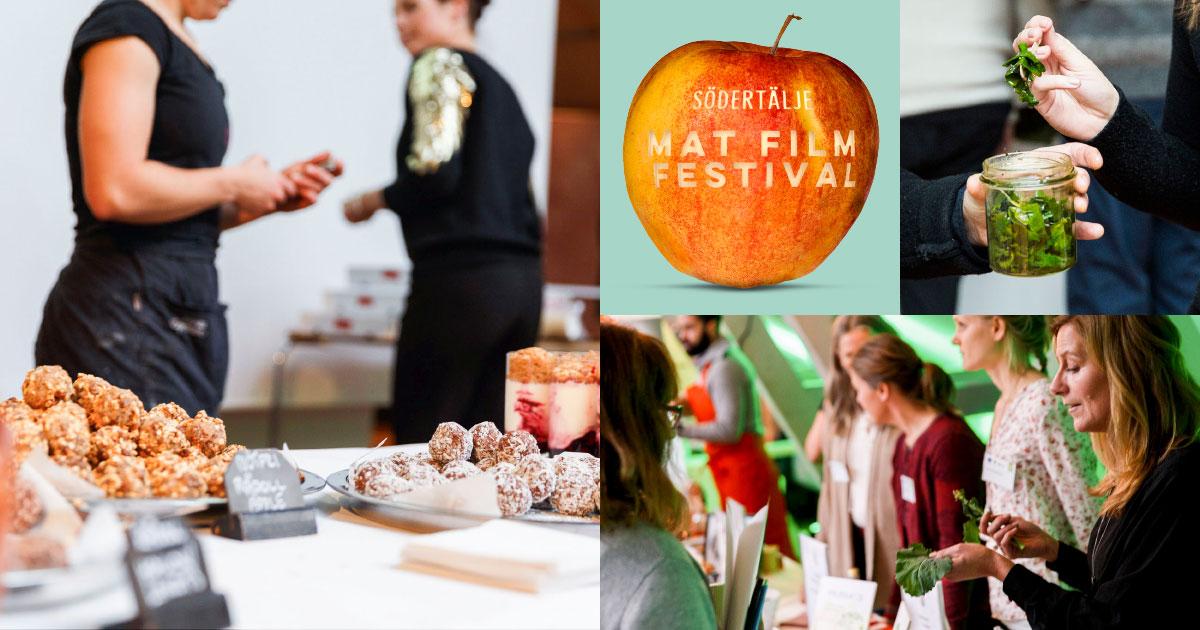 Ställ ut på Södertälje Matfilmfestival 17/3 2017